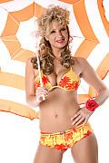 Carol G Golden Sands istripper model