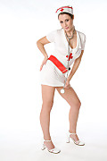 Elya Nursing Care istripper model