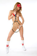 Sandra H Match point istripper model