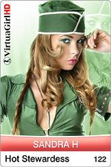 Sandra H / Hot stewardess