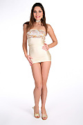 Zafira Ivory goddess istripper model