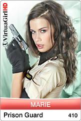 Marie / Prison guard