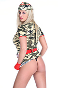 Jenny McClain Crazy army istripper model