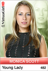 Monica Scott / Young lady