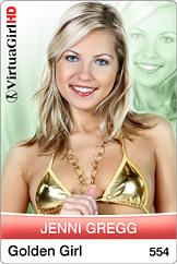 Jenni Gregg / Golden girl