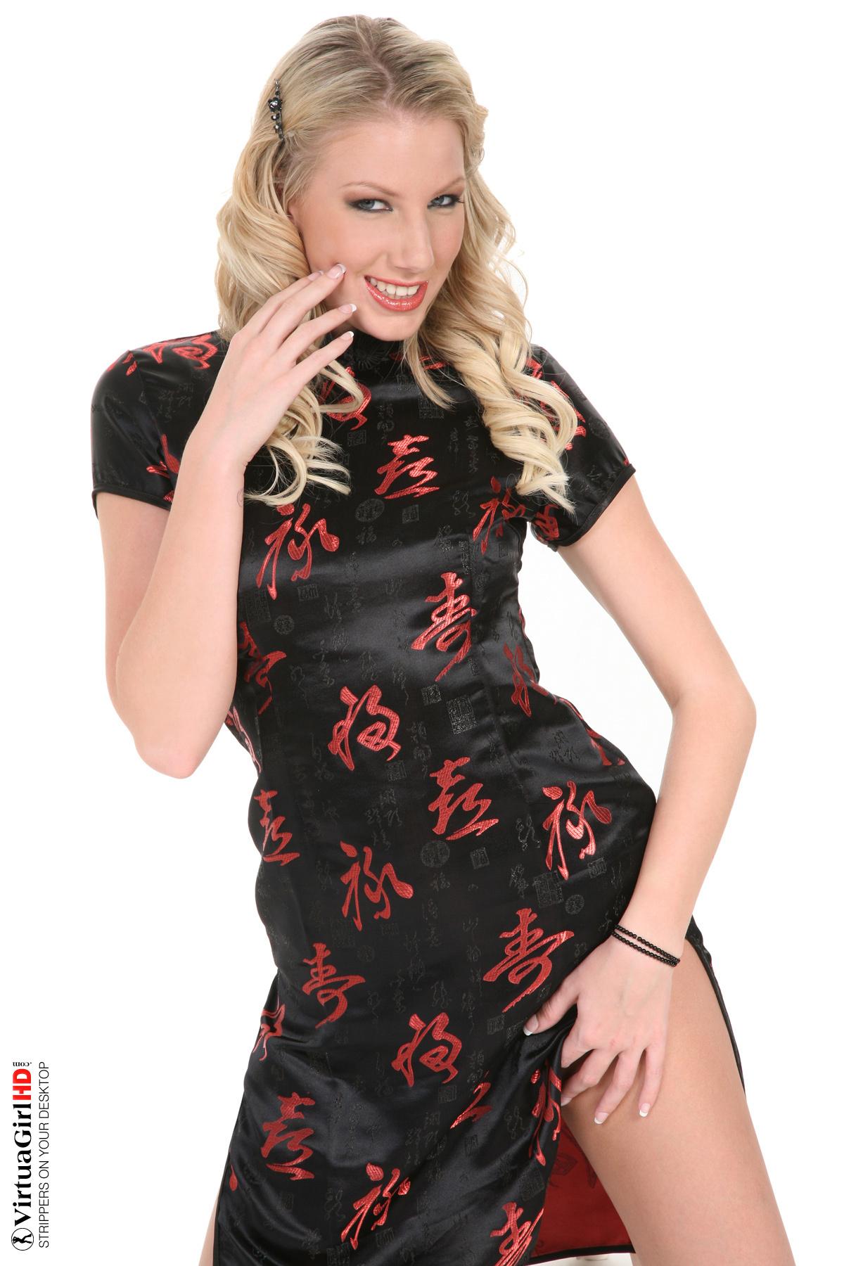 Model Danielle Maye Imperial dragon | Nude Girls Wallpaper