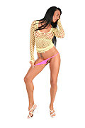 Ashley Bulgari Ibiza Club istripper model