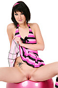 Catie Magic twister istripper model
