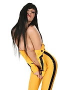 Alyssia Game of death istripper model