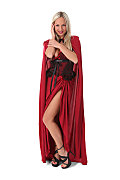 Valentina Red Riding Hood istripper model