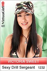 Victoria Sweet / Sexy Drill Sergeant