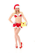 Tracy Lindsay Christmas gift istripper model