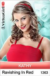Kathy / Ravishing In Red