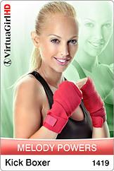 Melody Powers / Kick Boxer