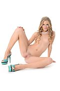 Cayenne Klein Baby Blue  istripper model