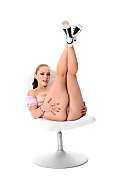 Liza Del Sierra Cherry Blossom istripper model