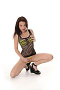 Nici Sexy Fishnets istripper model