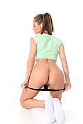 Angie Line Great Shape istripper model