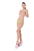 Aika May Sweet and Sour Lime  istripper model