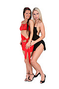 Melisa & Celina Duo istripper model