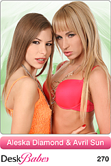 Aleska Diamond & Avril Sun / Duo