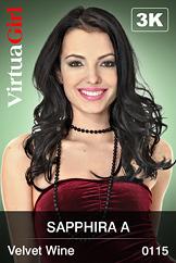 Sapphira A / Velvet Wine