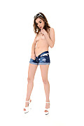 Dakota Denim Fancy istripper model