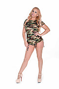 Lexi Belle Tactical Seduction istripper model