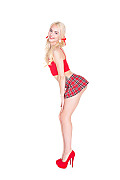 Elsa Jean Tough Lessons istripper model