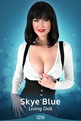 iStripper - Skye Blue - Living Doll