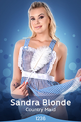 iStripper - Sandra Blonde - Country Maid