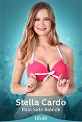 iStripper - Stella Cardo - Pool Side Blonde