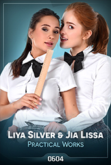 iStripper - Liya Silver and Jia Lissa - Practical Works