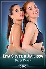 iStripper - Liya Silver and Jia Lissa - Diver Down