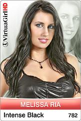 Melissa Ria / Intense black
